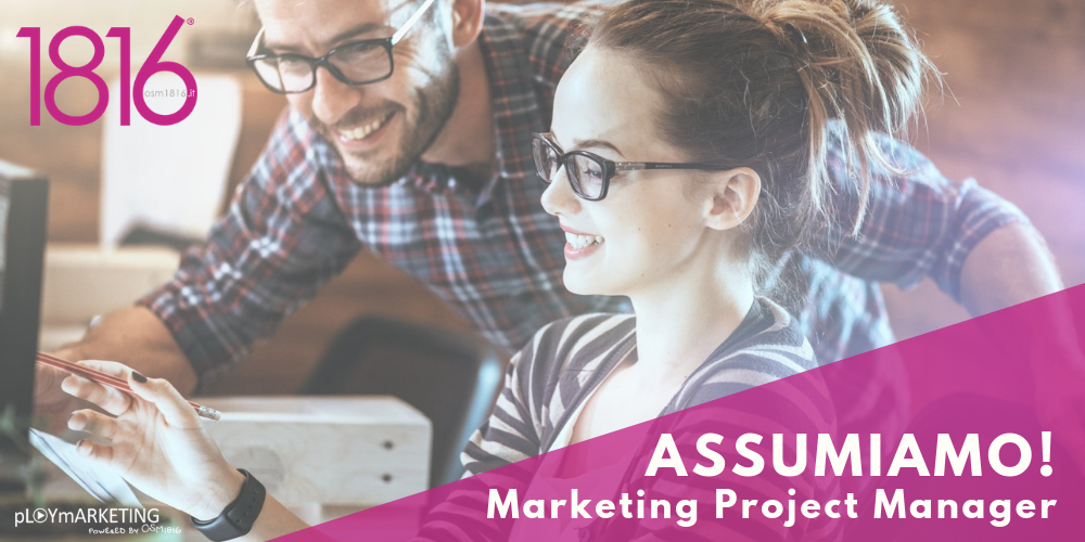 Assumiamo! Marketing Project Manager
